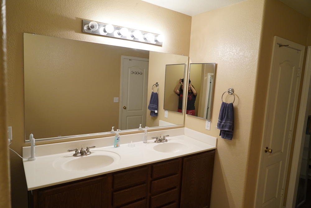 Diy Bathroom Mirror Frame For Under 10 Rise And Renovate