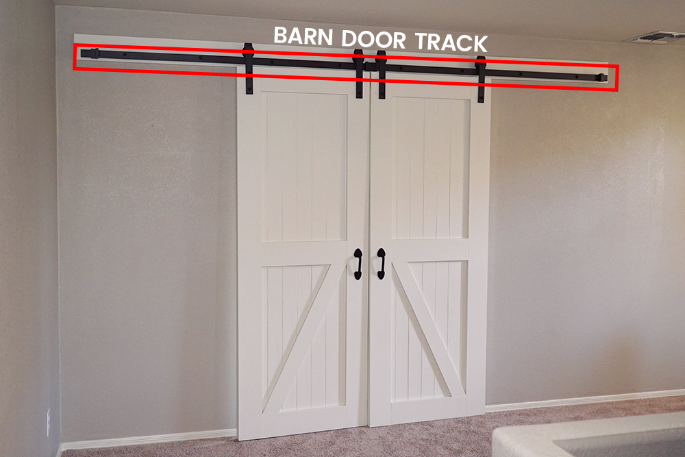 How To Hang Barn Doors  A Step